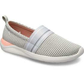 Crocs LiteRide Mesh Slip On Dames, pearl white/white